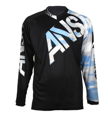 2019 larga MTB Downhill Jersey MX DH Offroad hot Jerseys Motocicleta Motocross MTB Bike Camisetas shirt Popular sports clot
