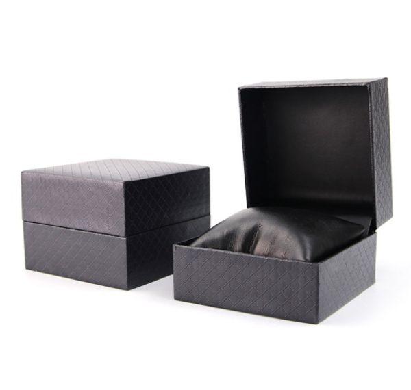 2019 Mais Quente Entrega Gratuita Fábrica de atacado Design de embalagem Da Marca feito por encomenda Caso de logotipo Caixa de Jóias de Exibição caixa de relógio Caixa De Armazenamento