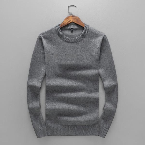 Neue Männer Pullover 2019 Winter Marke Strickwaren Mode Brief Tops Casual Britischen Stil Kleidung Weiche Pullover M-3XL * 22