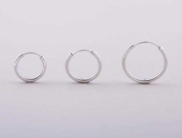 925 sterling silver mens earrings hoop earrings luxury designer earrings jewelry ear rings The thickness of 2 mmSize 14 mm / 16 mm / 18 mm
