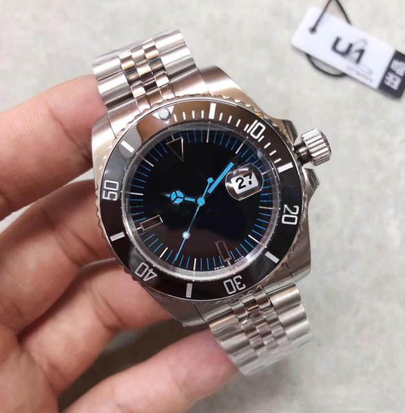 2019 venta caliente V3 SUB BAMFORD Reloj para hombre Cerámica Bisel Cristal de zafiro Automático Oyster Asiático 2813 Acero Inoxidable Corchete Original