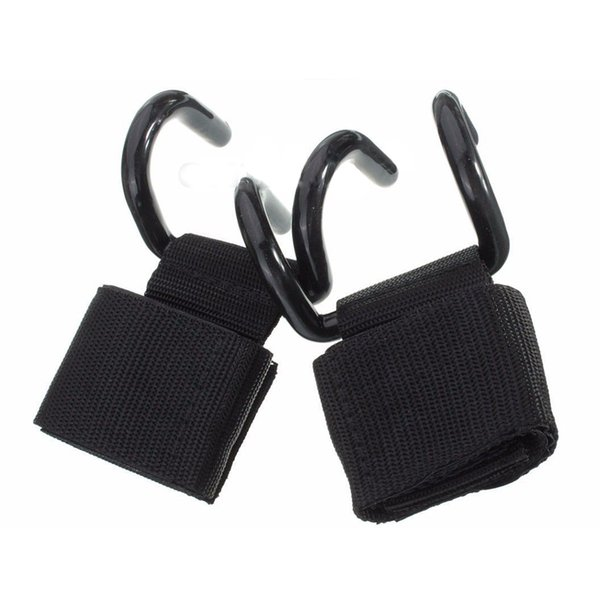 Weight Lifting Training Gym Hooks Bar Grips Grippers Straps Gloves Wrist Support