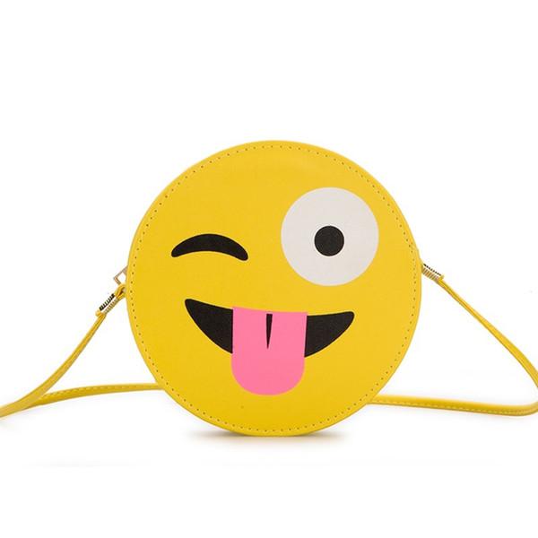 Cute Girl New Chic Pikachu Small Round Borse Personalità Wild Crossbody Packs Light Weight PU Leather Shoulder Bags Borse Messenger femminili