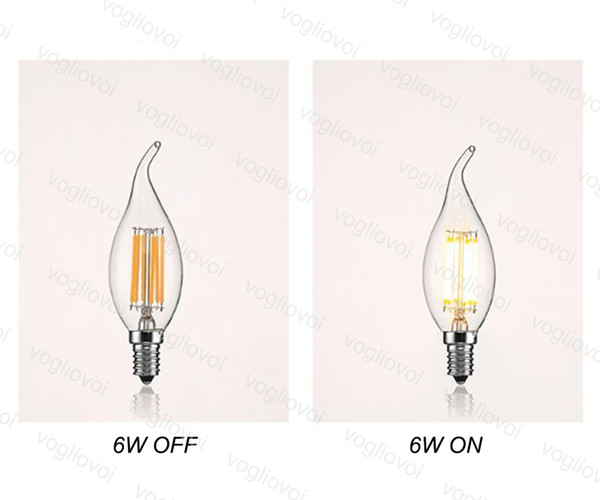 6W 220v Dimmable Pull Tail