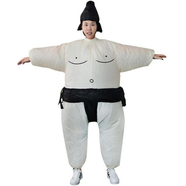 Disfraces de mascota de sumo japonés Vestido de fiesta de Halloween Accesorios de lucha Disfraces divertidos