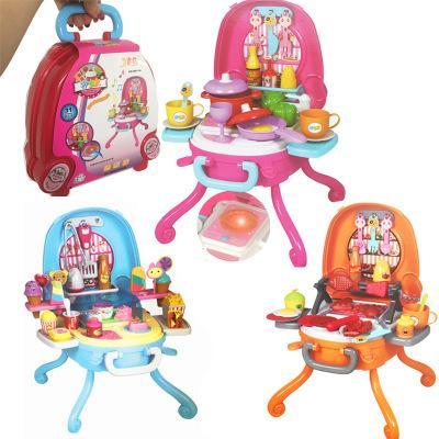 Jogo da casa das crianças simulação de cozinha ferramentas de cozinha bebê clássico brinquedos infantis fingir brinquedos conjunto de cozinha em miniatura