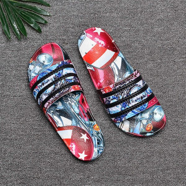 Summer Designer Slippers Male Scuffs Multicolor Luxury Sandals Sport Sandals Size 40-45