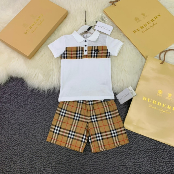 Children's suit 2019 latest how to wear to look good 100% cotton high-end quality worthy of the upper body super handsomein
