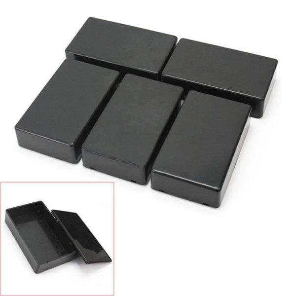 5 шт DIY 100x60x25mm пластиковые электронные Проект Box Корпус инструмента Case Top Продажа Мощный водонепроницаемый ящик