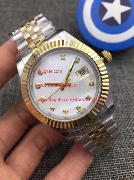 Luxury High Quality Watch 41mm President Datejust 116334 Sapphire Glass Asia 2813 Movement Mechanical Automatic Mens Watches