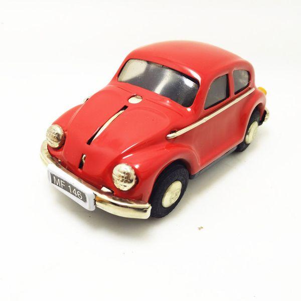 [TOP] Collection pour adultes Rétro jouet en métal Tin The Beetle voiture Mécanique jouet Mécanique jouet chiffres modèle enfants cadeau