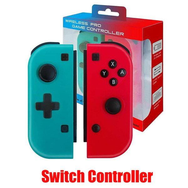 top popular Wireless Bluetooth Pro Remote Gamepad Controller For Switch Joypad Joystick Handle Joy-Con Right and Right Handle Console 2020