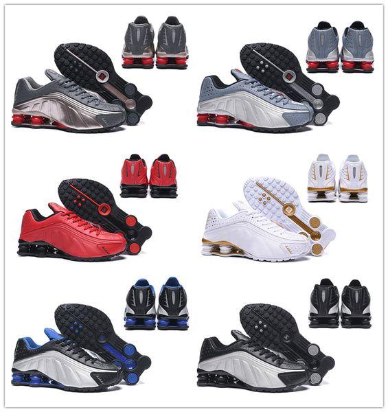 Shox Aktuelle Designer Silber Racer Liefern Hochwertige NZ Basketball Großhandel Weiß Metallic Schuhe Herren Bronze Avenue 301 R4 Rot Herren Blau OPZuwkTilX