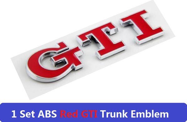 GTI rojo para trasero