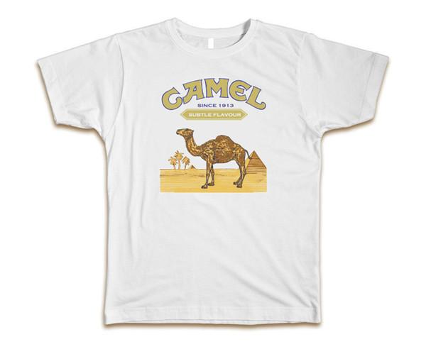 Camel Cigarettes camiseta blanca para hombre - ¡Se envía rápido! Calidad impresionante!