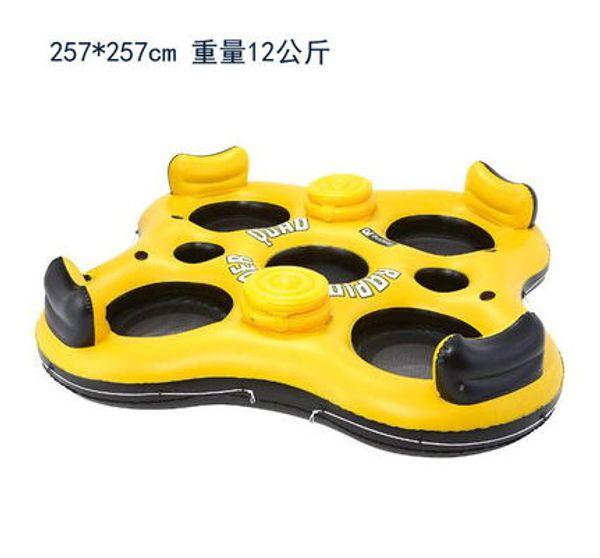 Hohe Qualität Nagelneue Aufblasbare schwimmen float schwimmring wasser Float Seat große wasser Luftmatratze aufblasbaren stuhl