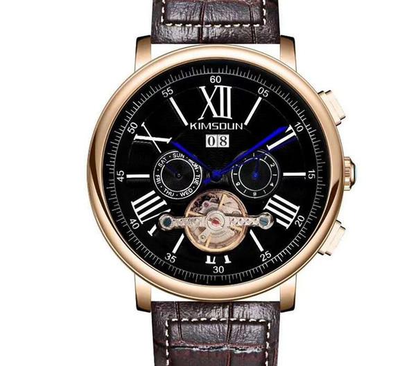 Relojes automáticos para hombre de lujo Marca famosa moda reloj mecánico X3 de alta calidad