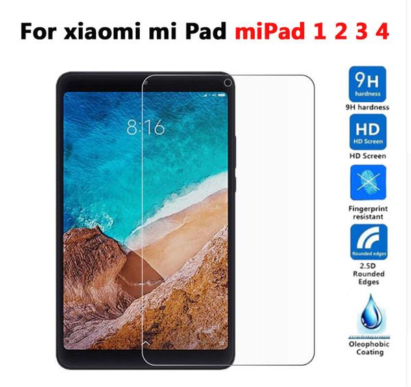 9H Vidro Temperado Para Xiaomi Mi Pad Mipad 1 2 3 4 Mipad4 Mipad3 7.9 8.0 polegada Tablet Protetor de Tela Película Protetora Guarda de Vidro