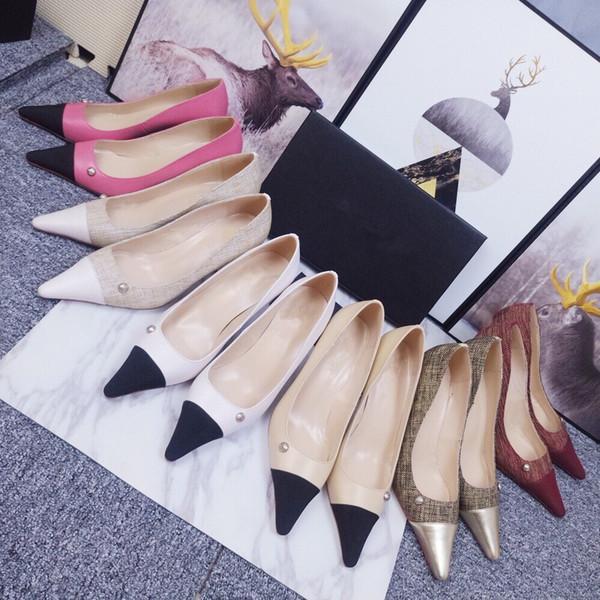 Women studs Brand Sandals Chunky Heel Comfort Sandals Women Shoes Genuine Leather Rivet Dress Shoes Summer mf190527