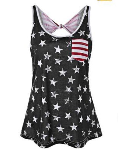 Flag Bikini Black