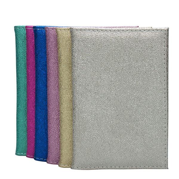 Moda pequenos presentes de couro macio clipe bilhete homens e mulheres comum conjunto de proteção do livro de passaporte presente quente T3D5001