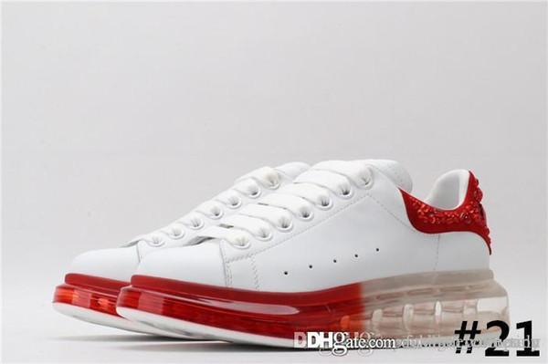 Boy kauçuk Sneaker boy spor ayakkabı, dana derisi kadın dantel-up Sneaekers kutu ile renkli deri çizme ile 34-45