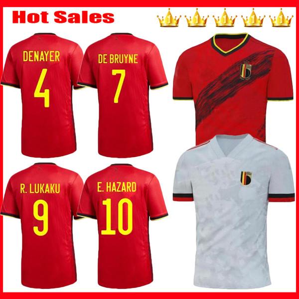 Men+Kids 2019 2020 Belgium soccer jerseys camisetas 19 20 team home away E.HAZARD R. LUKAKU DE BRUYNE KOMPANY maillot de foot football shirt