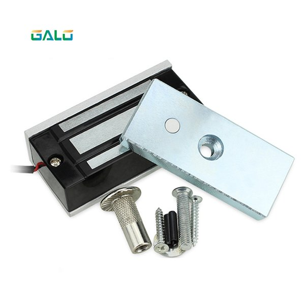 top popular Magnetic lock Professional Small DC 12V Open Frame Type Solenoid For Electric Door Lock with Low Power Consumption Stability 2021