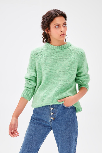 Trendyol Mint Bike Collar Sweater Sweater TWOAW20KZ0209