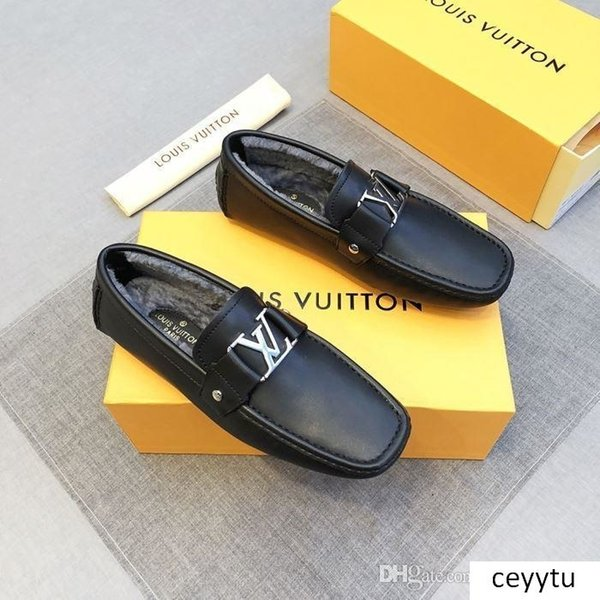 Newst calda dimensione di vendita più recente mans mans scarpe di cuoio scarpe di marca disegno man man di lusso scarpa scarpa casuale scarpa in pelle 38-45