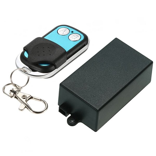 DC12V Relay Wireless Remote Control Switch Receiver Transmitter Learning 433 Normally Open/Closed Door Access LED/lamp