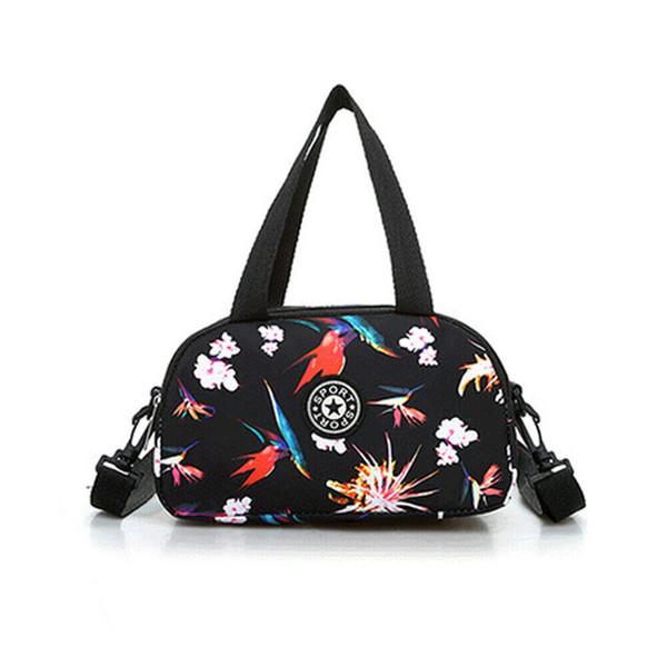 New Women Bag Nylon Chinese National Wind Bag Vintage Messenger Handbag For Female Shoulder Holiday Travel Tote