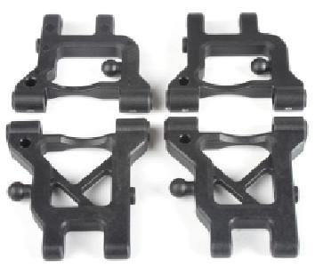 ZD voiture Rc Brushless course plate 1:16 16426-2011 accessoires avant / arrière inférieur Bras de suspension amortisseur Set composants avant / arrière supérieur