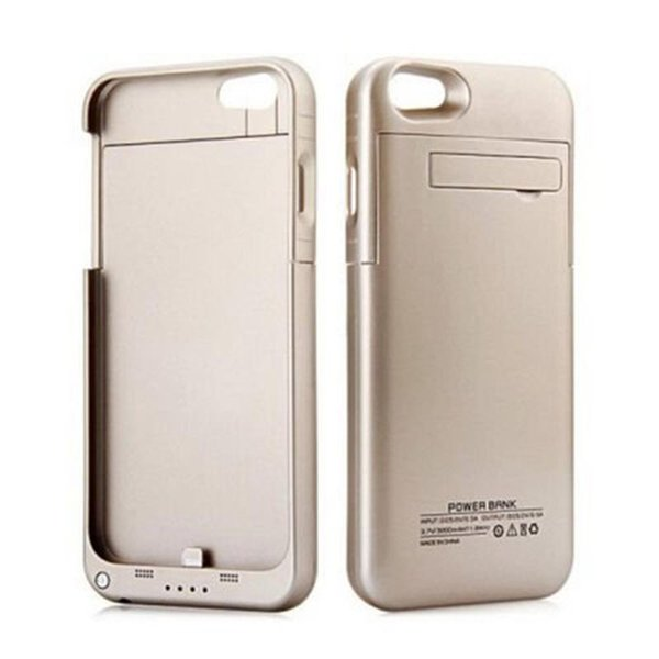 Iphone 8 için Artı Harici Pil Yedekleme Güç Bankası Şarj Kapak Kılıf Powerbank Durumda Iphone 7 6 6 s Artı 4.7