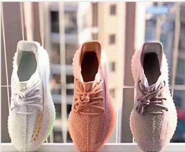True Form 35O V2 Clay Static Zebra Arancione Grigio Beluga 2.0 Butter Kanye West Scarpe da corsa da donna Mens Designer Sneakers sportive