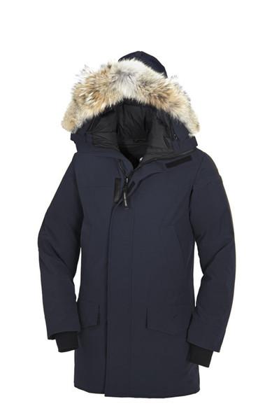 Pas Cher Doudoune Fourrure Down Parka Homme Jassen Daunejacke Outerwear Big Fur Hooded Fourrure Manteau Canada Down Jacket Coat lan Hiver