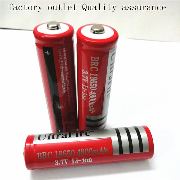 Yüksek Kalite 18650 4800 mah lityum şarj edilebilir pil için Fashlight, Güç Bankası, Elektronik veya LED el feneri telefon güç vaka sıcak selli