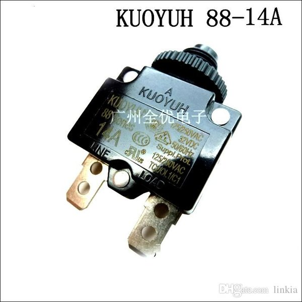 best selling Taiwan KUOYUH Overcurrent Protector Overload Switch 88 Series 14A