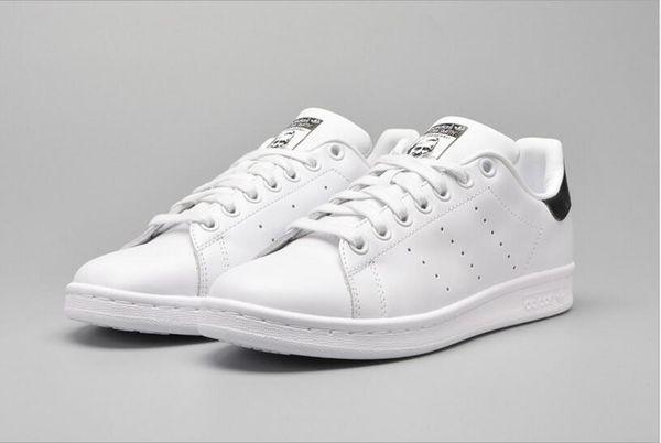 Großhandel 2018 New Originals Stan Smith Schuhe Frauen Männer Casual Leder Sneakers Superstars Skateboard Weiß Blau Stan Smith Schuhe RRMALL4 Von
