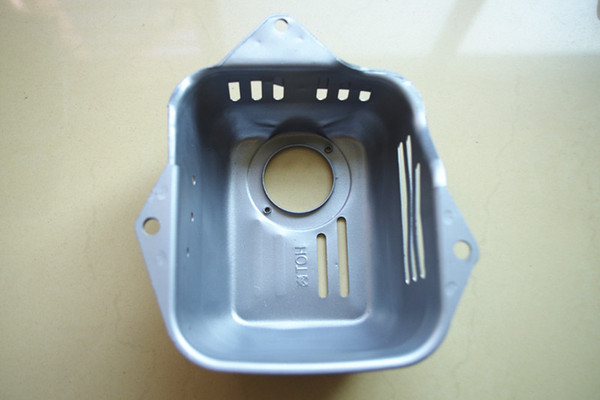 Muffler Cover Exhaust pipe Cover for Honda GX100 GCV135 GCV160 GC135 GC160 engine rrammer tamper eplacemment part