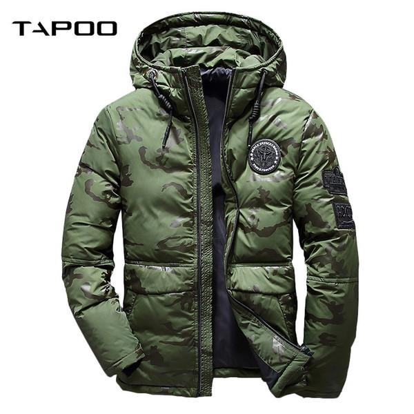 Jacket Männlichen Donsjas Hooded Ultraleichte Feather Großhandel Männer Winter Weiße Jacke Dicke Von Herren Daunenjacke Camouflage Parka Jacken NknPZ8X0wO