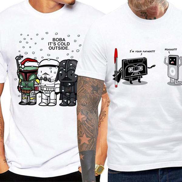 Uomo Estate Hip Hop T-shirt divertente maglietta stampata Hipster design personalizzato O-collo fresco Camicie Uomo maglietta formato S-3XL