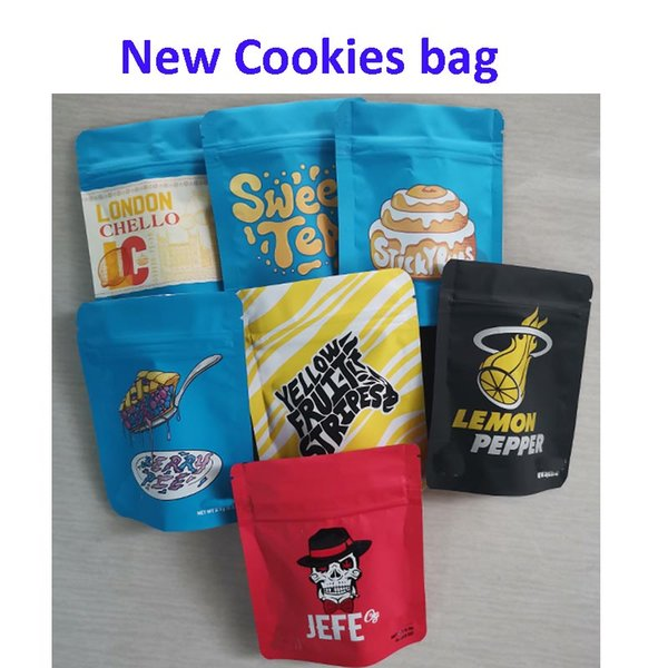 best selling Newest Cookies SF California 3.5g Yellow fruit stripes Leondon Chello LEMON PEPPER Berry pie sticky Buns JEFE