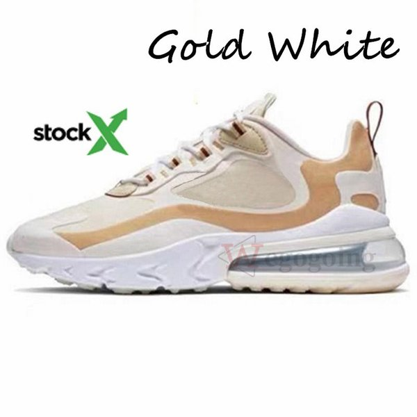10.Gold White