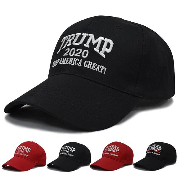 Trump şapka Nakış Pamuk Ayarlanabilir Nefes Şapka Trump 2020 Amerika Büyük Beyzbol şapkası Açık Trump Unisex tutun MMA2679-C3 Caps