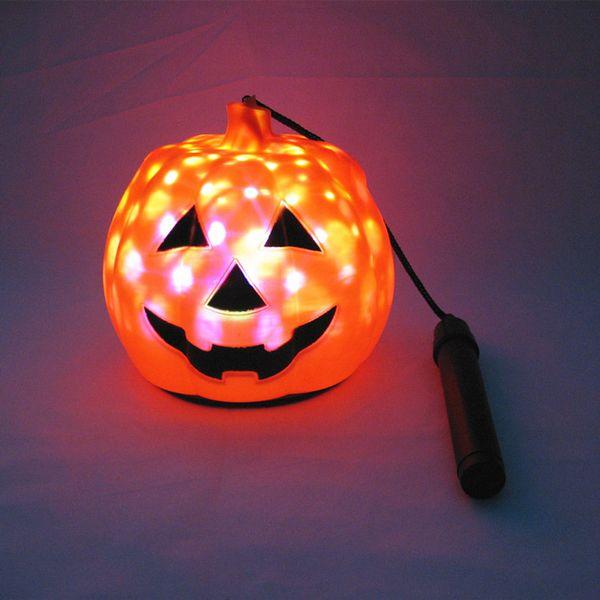 Luz de noche de calabaza de Halloween Linterna portátil Juguetes para niños Iluminación LED Festival Luces decorativas Luces ambientales coloridas