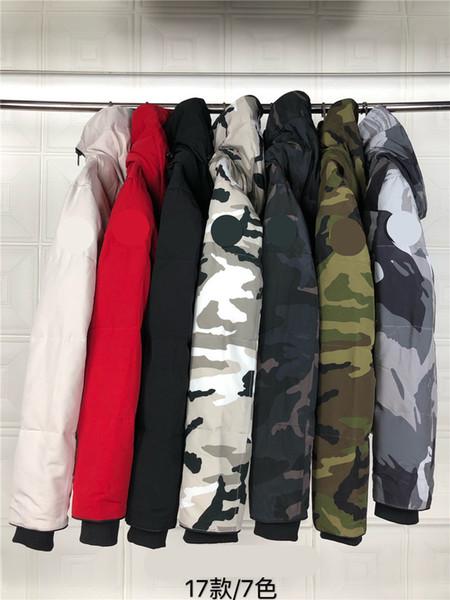 2019 donne Outwear giù parka più nuovo stile Donne Giù Cappotti Giacche con il 90% piume d'anatra bianca pelliccia di lupo dei capelli ordine misto di stile: 17
