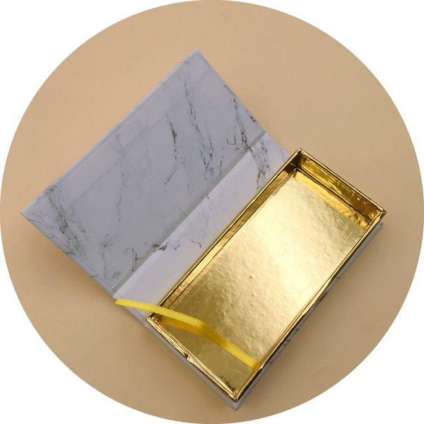 Magnetic empty paper lash package custom eyelash box