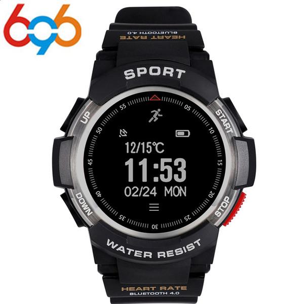 696 Akıllı İzle f6 IP68 su geçirmez GPS smart watch uyku erkekler için uzaktan kamera watche monitörler açık spor SmartWatch PK GV68