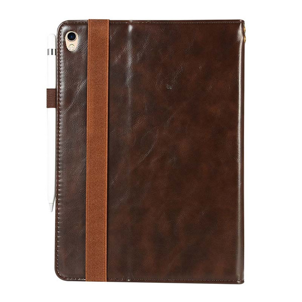 Luxury Classic Half Genuine Leather Tablet case for iPad Pro 11 ipad AIR AIR2 cover case Shockproof Leather Tablet Case